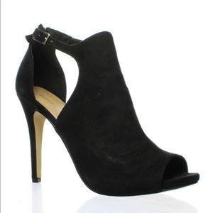 Madden Girl suede high heel pumps